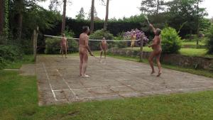 Badminton in full swing